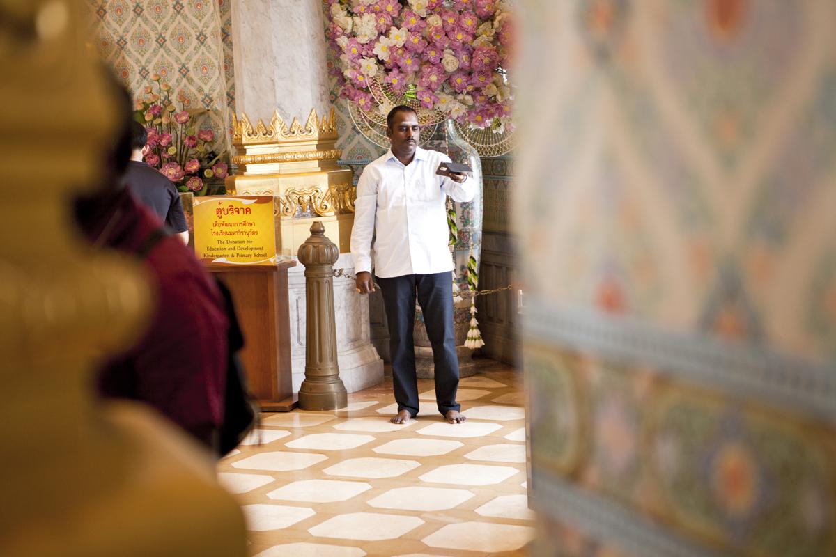 Świątynia Złotego Buddy (Wat Traimit) wBangkoku. Warto zobaczyć wBangkoku